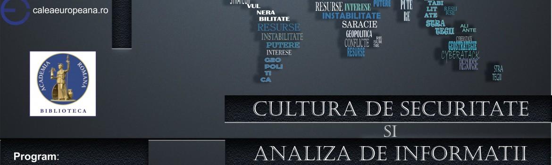 cultura de securitate - poster
